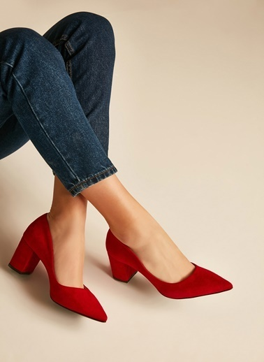 Sole Sisters Topuklu Ayakkabı Kırmızı - Herden2 Kırmızı